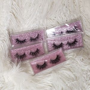 5 pairs of 5D Mink Eyelashes